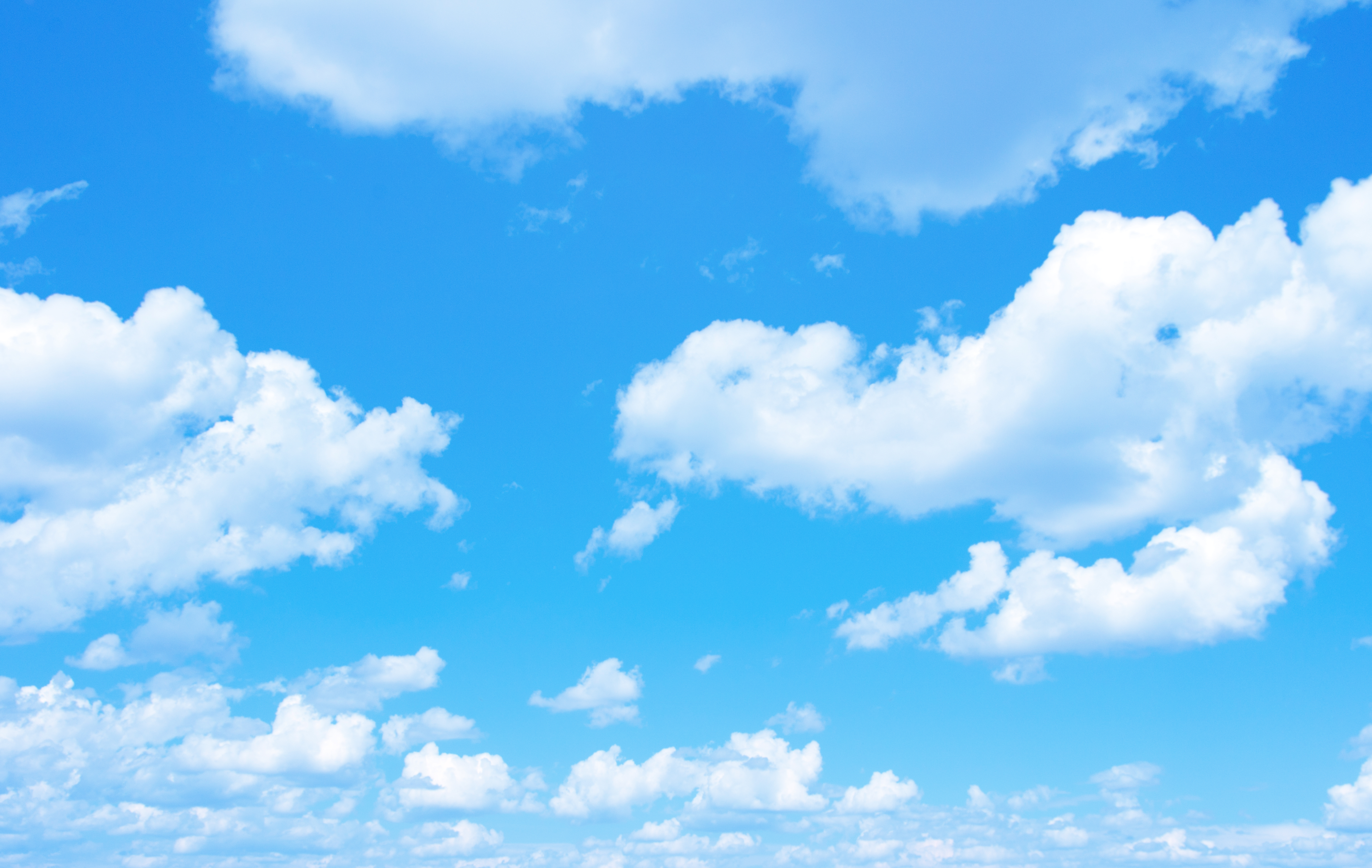 Blue sky background with a tiny clouds – Malden Access TV