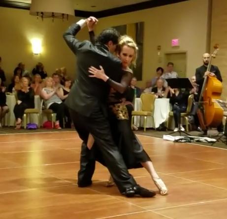 3:35pm Ultimate Tango - Argentinian tango dancing