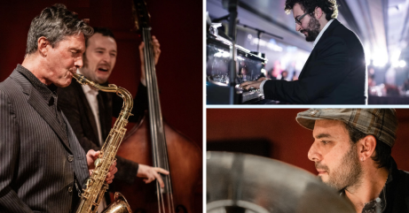 6:15pm David Arteaga Quartet - Jazz