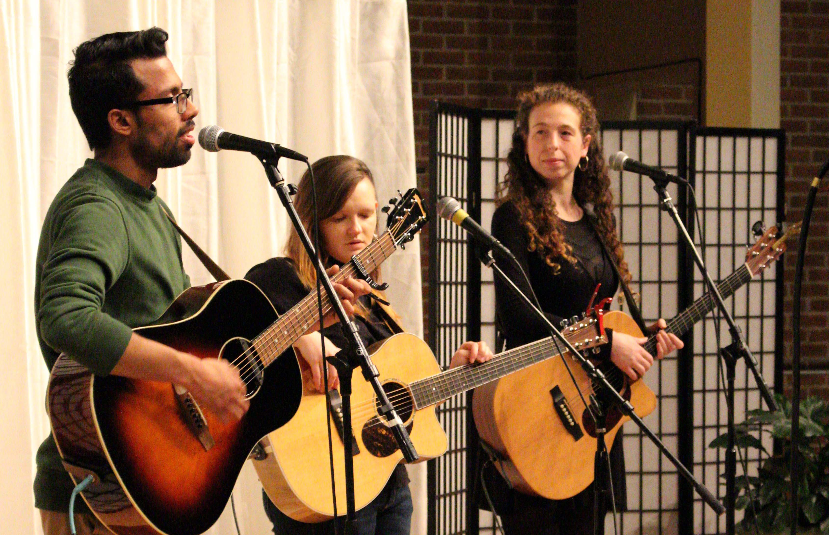 Prateek Poddar, Rachel Marie, Molly Pinot Madigan - The Gallery Performance Series